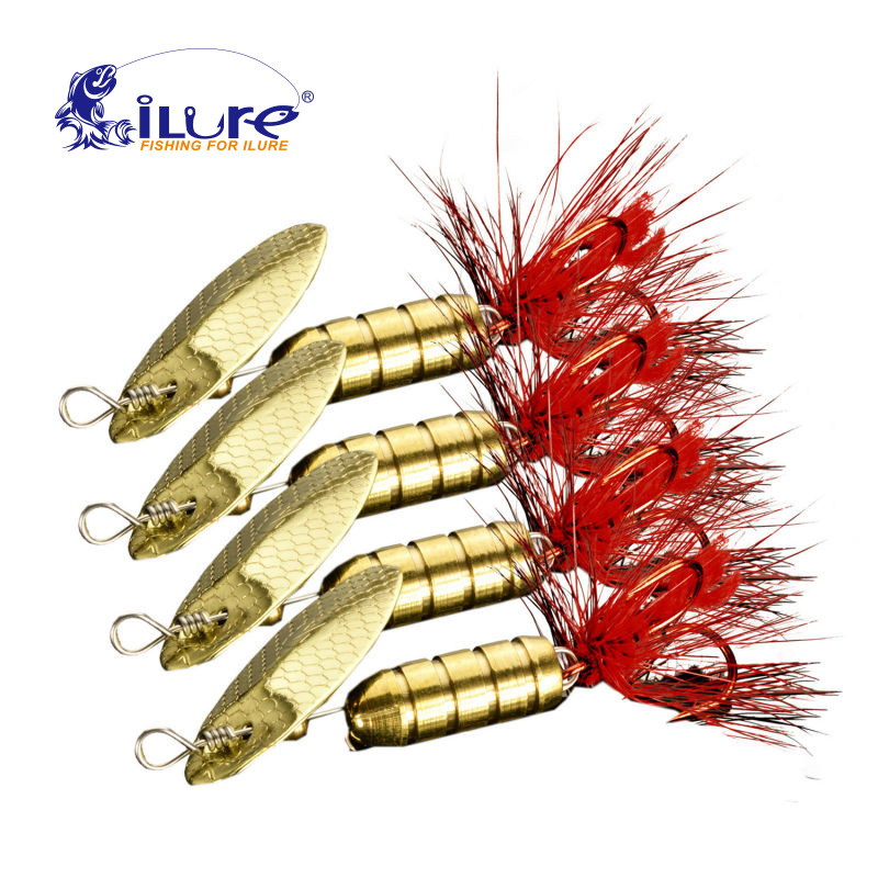 iLure Fishing Lure Hook Mepps Spinner Spoon Lure 1.5-9g With spinner bait bass bait metal spoon lure Peche Jig Anzuelos De Pesca 1pcs 6cm 2 5g fishing lure hook mepps spinner spoon lures rotating metal sequins bait hooks peche jig anzuelos de pesca wq8065