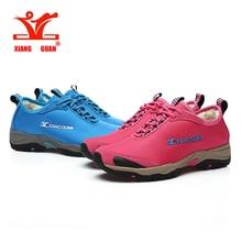 XiangGuan winter warm Outdoor shoes 2016 Windproof Waterproof Trekking Climbing Breathable Sport Shoes Sneakers Man Hiking Shoes
