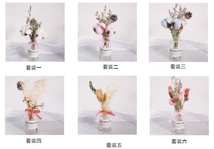 Mariages crème chocolat séchés /& Fleur Artificielle Bouquet Cadeau no vase