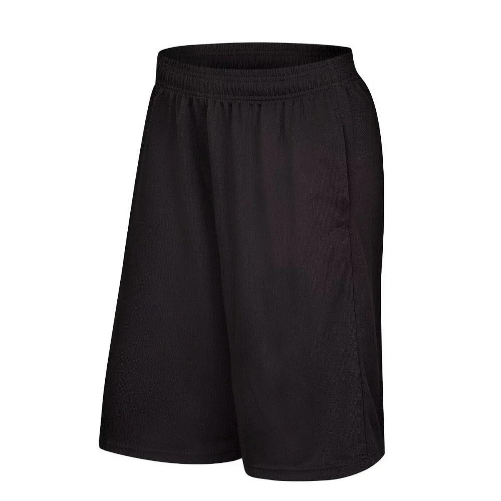 Mens Running Basketball Shorts Workout Fitness GYM Sports Bottom Zipper Pockets