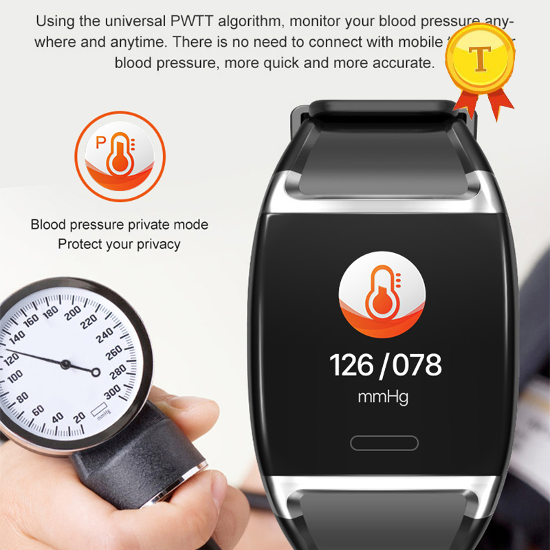 New Big Screen Blood Pressure Heart Rate SmartBand Smart Bracelet Sports Pulse Meter Swimming Wristband Waterproof