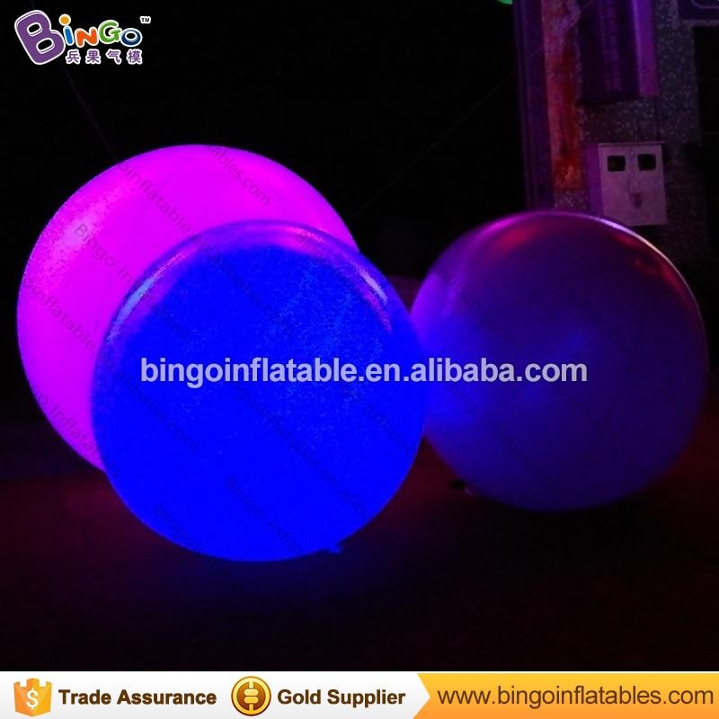 Led verlichting opblaasbare giant bal, giant opblaasbare discobal ...