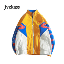 Jvzkass autumn 2018 new female students bf Harajuku loose wild coat retro tide Z255