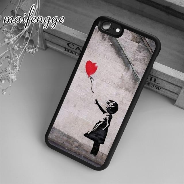 banksy iphone 7 case