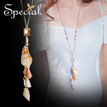 The SPECIAL New Fashion euramerican Marine Wind Necklace Long-length Womens Fashionable  necklace ,S1871N