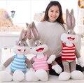 100 cm caliente venta de la felpa Bugs Bunny Animal relleno de la muñeca del Kawaii para los niños almohada suave para las niñas Funning calidad estupenda