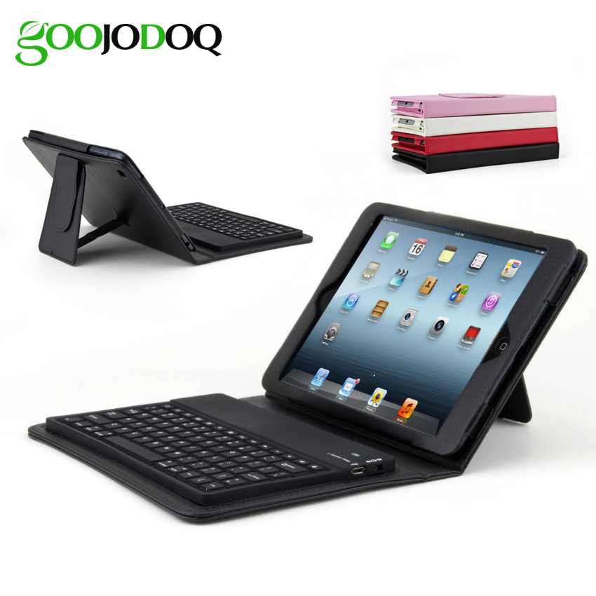 Keyboard Case for iPad mini 4 3 2 1,PU Leather Protective Folio Stand Cover Coque for Apple iPad Mini 4 with Bluetooth Keyboard цена и фото