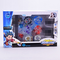 Free Shipping Beyblade Metal Fusion Set 4pcs Beyblades With Launchers Beyblade Arena Constellation Spinning Top S40