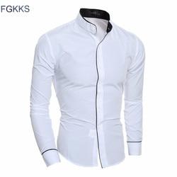Fgkks new arrival casual shirt men brand clothing autumn fashion long sleeve tuexdo shirt male 3.jpg 250x250