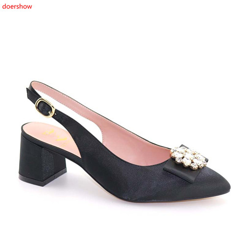 doershow  Sandals Women African Wedding Shoes High Quality Elegant Italian Women Shoes with Stone High Heels Women Pumps!SFF1-15doershow  Sandals Women African Wedding Shoes High Quality Elegant Italian Women Shoes with Stone High Heels Women Pumps!SFF1-15