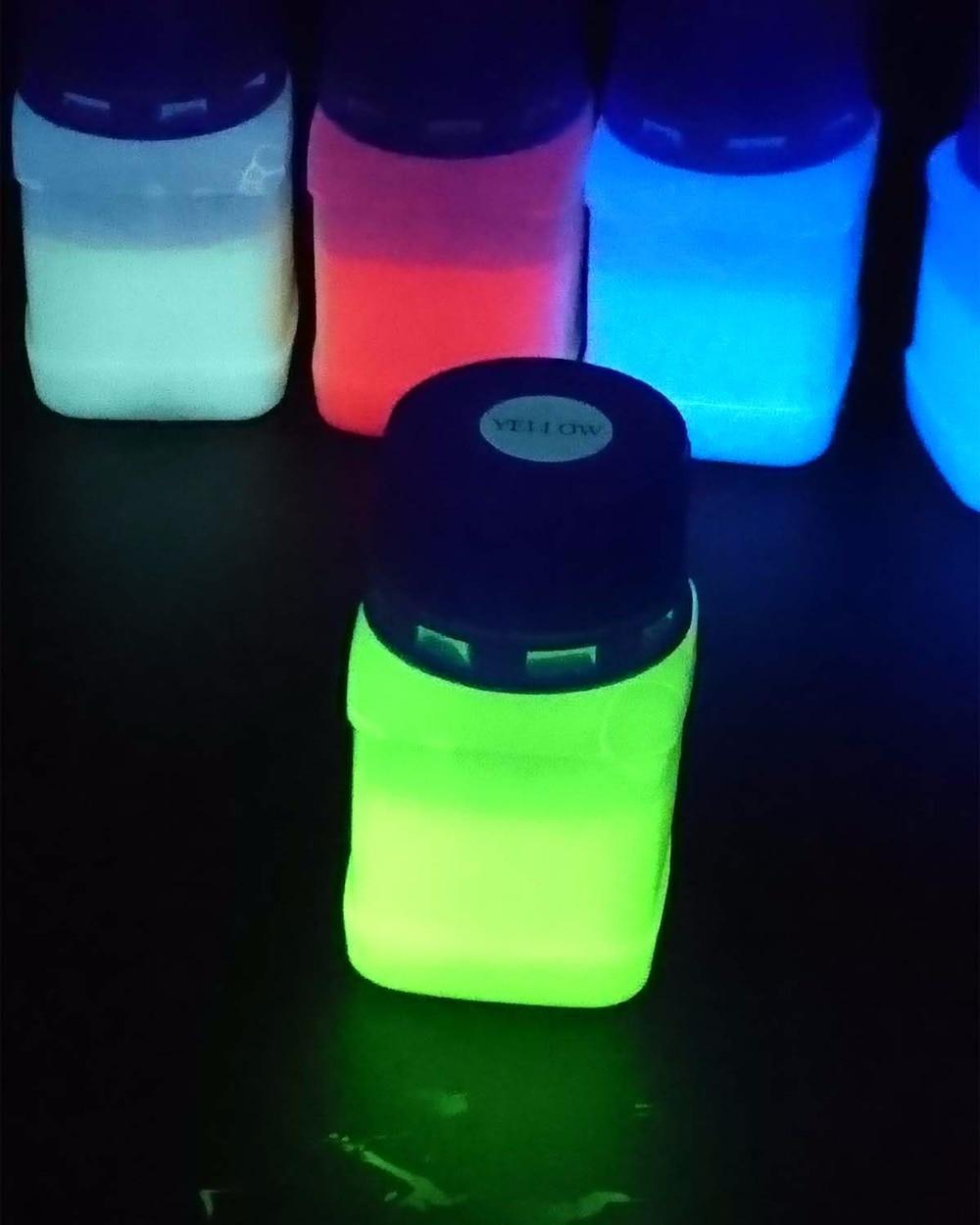 Bright UV Blacklight Reactive Invisible Ink, Refill Ink For Epson HP Inkjet Printer 50ML/Bottle