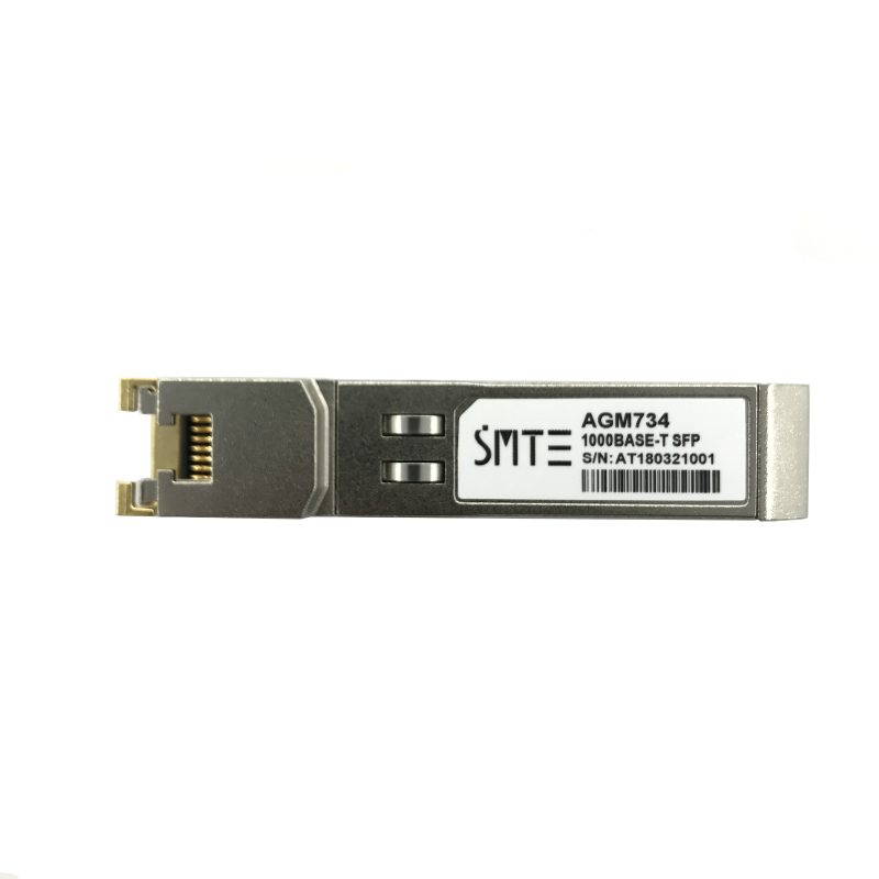 Compatible with NETGEAR AGM734 1000BASE-T Copper RJ-45 100m Transceiver module SFP