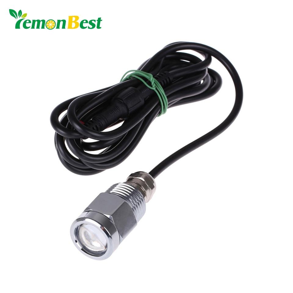 Marine Drain Plug Led Light