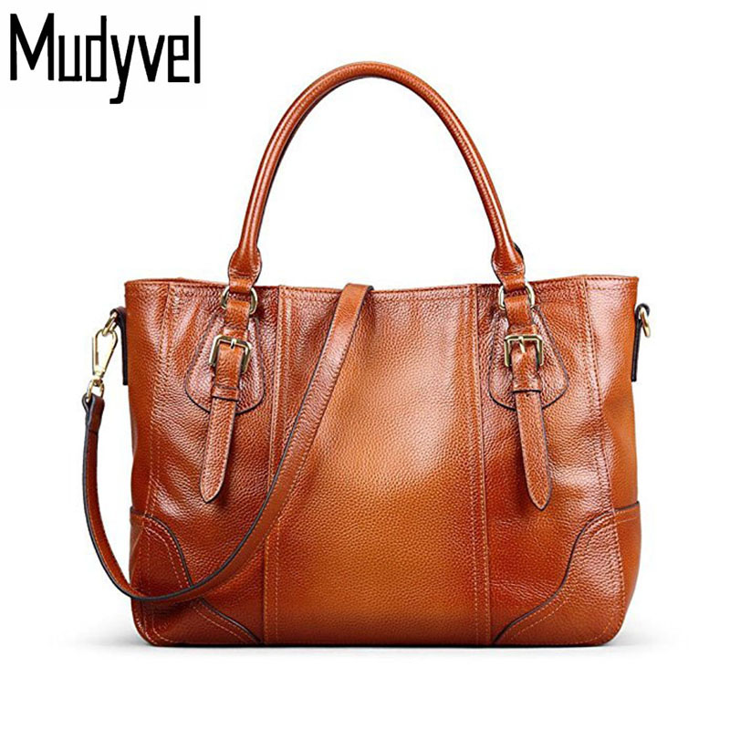New Women Handbag luxury Genuine Soft Cow Leather Shoulder bag high-capacity fashion women bags designer tote bag woman 2018 new arrival soft cow leather bucket bag fashion designer women shoulder bag large capacity genuine leather women handbag