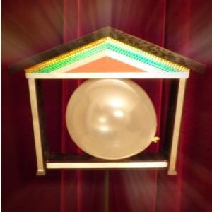 Colombes jumelles en ballon-Illusions de magie pour magiciens, tours de magie professionnels, accessoires de magicien, Illusions de magie de scène