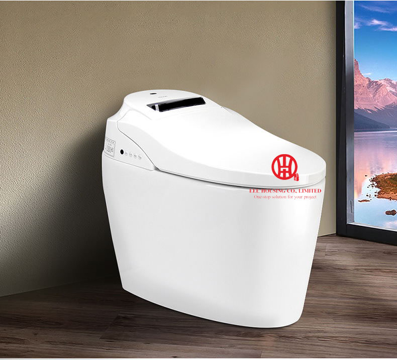 North America Smart Heated Toilet Seat Bidet Toilet Seats Intelligent Toilet Bowl Lid Cover Open Cover Automatically When Close