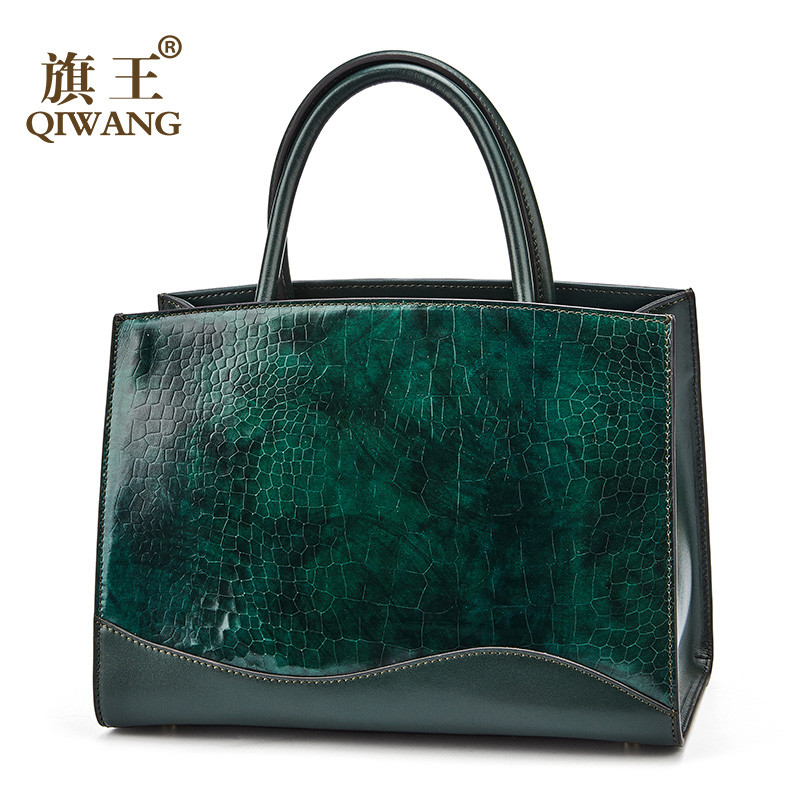 Women Handbags Bags Genuine Leather Female Green Bag Luxury Brand Designer Ladies Handbag for Womens Tote bags sac main femmeWomen Handbags Bags Genuine Leather Female Green Bag Luxury Brand Designer Ladies Handbag for Womens Tote bags sac main femme