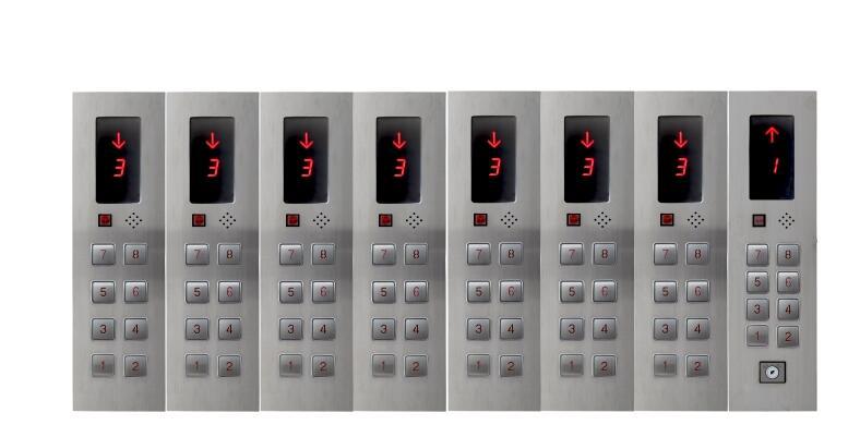 DC24V 8-этажей зал вызова Дисплей Plate для Лифт ...