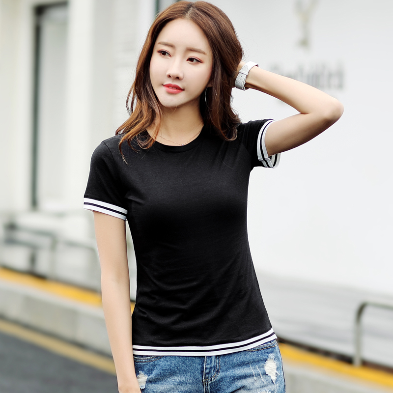 T-shirt Summer Clothes 2018 New Tshirt Harajuku Women's Top Female T shirt Women Camisetas Short Sleeve Shirt Cotton A013