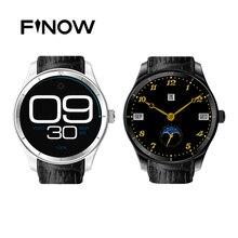 Finow Q3 Montre Smart Watch 1.4 Pouce AMOLED Android 4.4 Podomètre Moniteur de Fréquence cardiaque Fitness Tracker 3G Wifi Pour Android iOS téléphone