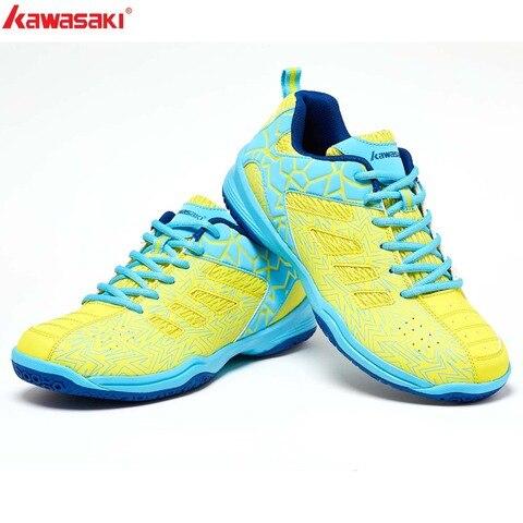 2019 Kawasaki Sports Man Sneakers Badminton Shoes Zapatillas  Rubber Anti-Slippery Indoor Court Sports Shoe for Men Women K-075 Multan