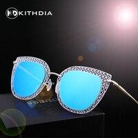 KITHDIA Brand Designer 2016 New Mirror Sunglasses Women Hexagon Lovers Ladies Sunglasses UV400 HD Polarized Sun