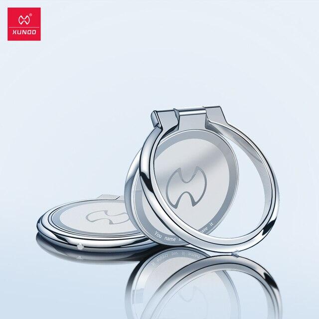 XUNDD מגנטי טבעת מחזיק אוניברסלי stand עבור andorid ומכשירי iOS מתכת טלפון טבעת 360 תואר