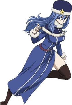 Fairy Tail Juvia Lockser Cosplay Costume Wig Free Shipping for Halloween and Christmas