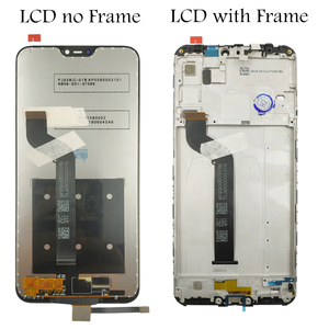 Image 2 - Pantalla LCD táctil para Xiaomi Mi A2 Lite/ Redmi 6 Pro, montaje de marco, piezas de reparación de pantalla táctil