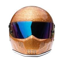 Аутентичные картинг горный велосипед защитный шлем мотоциклетный шлем оптовая ATV-6 флэш золото