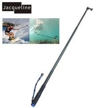 Jacqueline for 28cm to 92cm Underwater Waterproof Selfie Sticks Monopod for Gopro hero HD 6 5