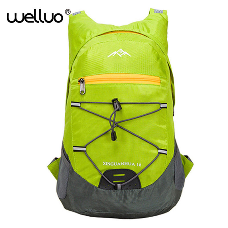 Hot Light  Foldable Travel Backpack Mountaineering Nylon Packs Rucksack Student Bag Nylon Road Knapsack Bolsas Mochila XA926B 12l cycling road backpack bike mountaineering rucksack water proof nylon running outdoor ultralight travel water bag helmet bag