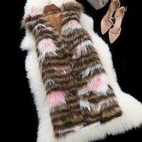 Winter Raccoon Fur Coats Long Slim Fit Jacket Real Raccoon Dog Fur Coat Natural Fur Vest Ladies Fur Coat M XXXL