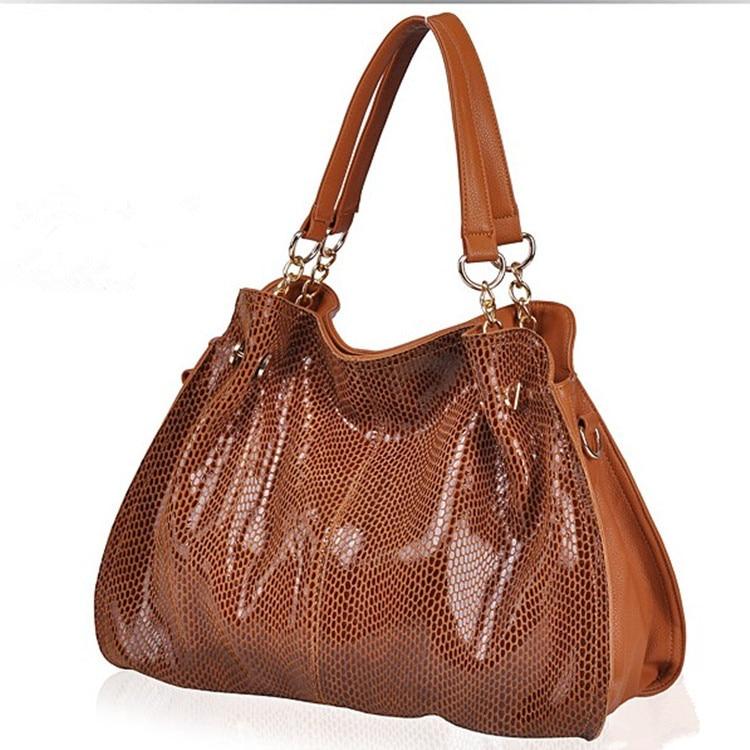 цены 100% Genuine Leather Handbags Luxury Brand Designer Women Shoulder Bags For Women Tassel Messenger CrossBody Crocodile Bag X-4