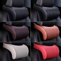 Car Headrest Pillow Comfortable Sports Car Headrest Memory Cotton Interior Products Lumbar Pillow Seat Care Neck