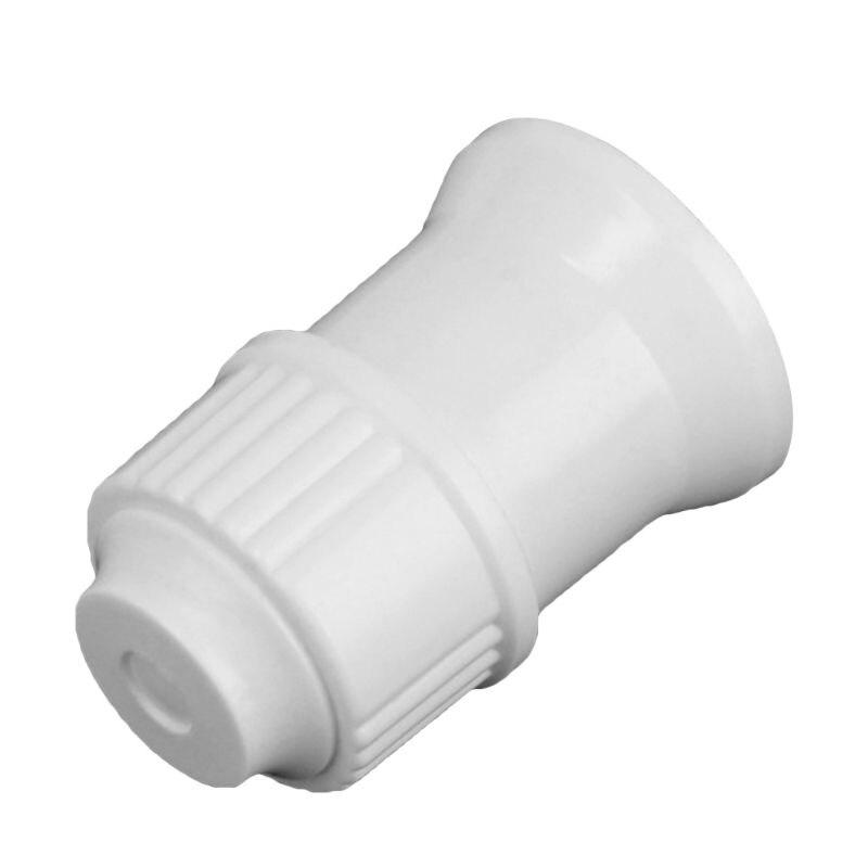 1pcs E27 Plastic Hanging Lamp Thread Base Screw Light Bulb Ceramics Socket Holder Flame Retardant Durable Safe Non Electric Leak