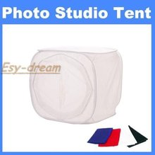24'' inch 60cm Light Photo Shooting Cube Soft BoxTent For Foto Studio Photography Color Backdrops PS003