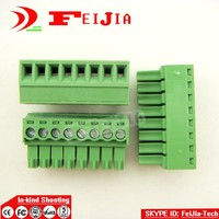 15EDG 3 5 8P 8Pin Plug Screw Terminal Block ROHS Connector 3 5mm 10pcs Lot Free