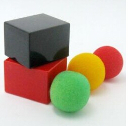 Paradox Large Size Magic Tricks Box Change Appearing Sponge ball Magie Magician Close Up accessory Gimmick