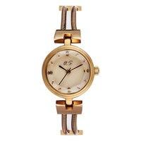 Orijinal Marka Bir Parlaklık için Bilezik Saatler Lady Moda Elbise Altın Büyüleyici Zincir Tarzı Takı Kuvars Kadın Izle relojes