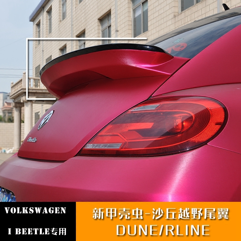 ABS Paint Car Rear Wing Trunk Lip Spoilers Fits For Vw Volkswagen Beetle GSR G20 Big