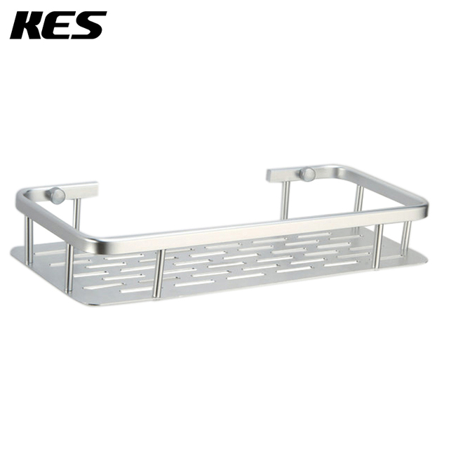 KES A4028A 12 Inch Aluminum Bathroom Shelf Wall Mounted, Silver Sand ...