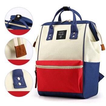 цена на Women Backpack 2019 Fashion Waterproof Backpack Large Capacity Shoulder Bag Nylon Multifunction Travel Backpacks Student Bag