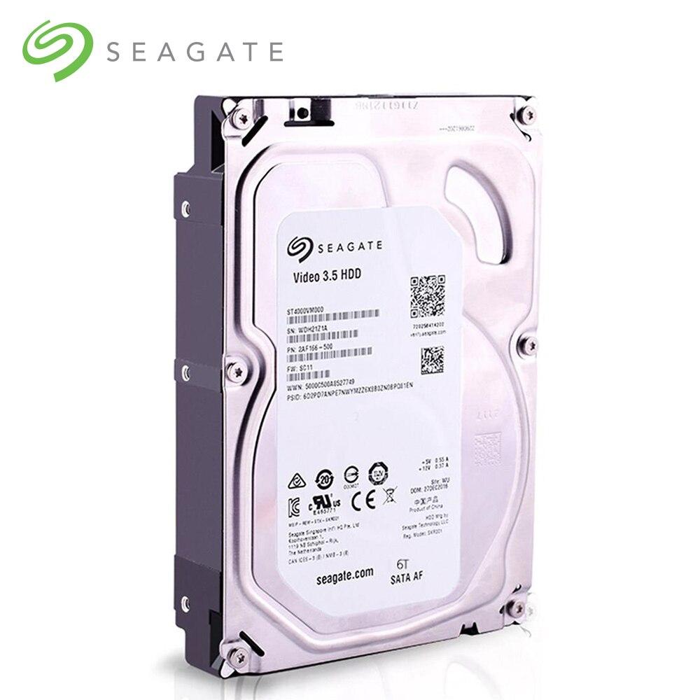 Seagate SkyHawk ST6000VX0023 6TB Surveillance Specialised Storage HDD SATA 6Gb s 7200 RPM 3 5 Inch