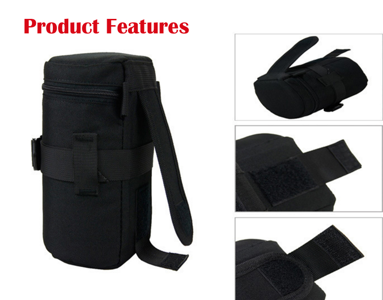 Jealiot Universal Waterproof Protective bag for the Camera Lens Bag digital DSLR camera Case Cover Pouch For Canon Nikon sony 6