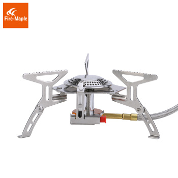 Fire Maple Gas Burners Gas Stove Outdoor Portable Compact Split Light Cooker FMS-105 2600W Camping Equipment Gas Furnace