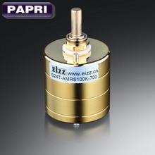 1 PC EIZZ OR Prime 24-Step Stéréo Atténuateur Volume Potentiomètre 10 K 100 K 250 K Pour Audio HIFI DIY Vintage Tube Amplificateur