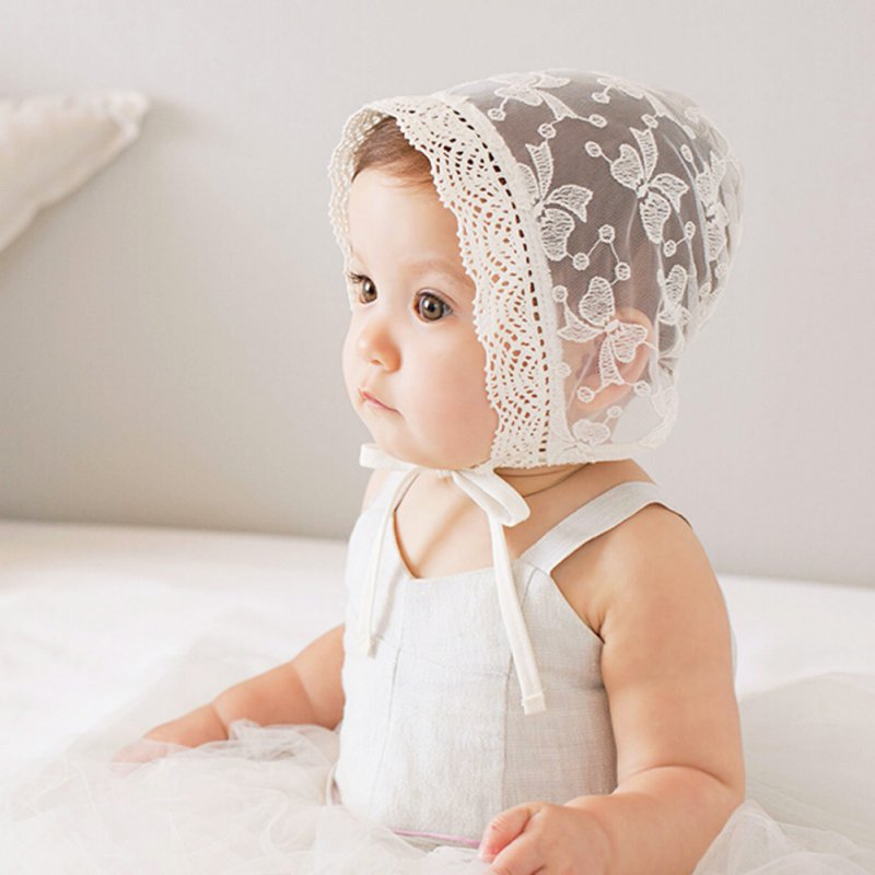 Baby Girl Kids Toddler Infant Lace Hats Cap Sweet Lovely Princess Caps Kids Photograph hat