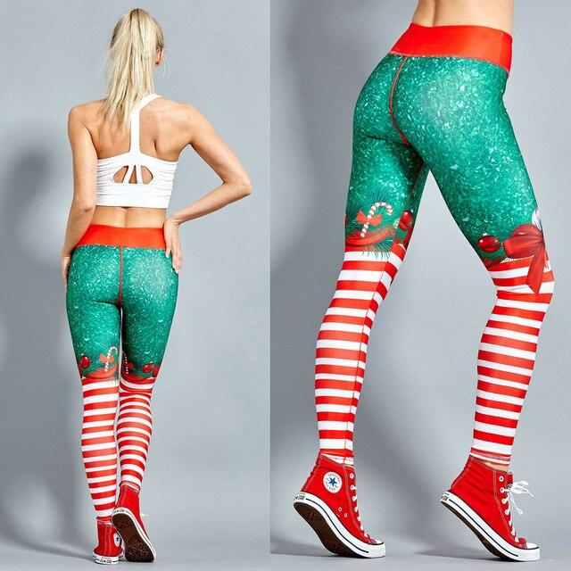 2019 Hayoha Christmas Printed Leggings