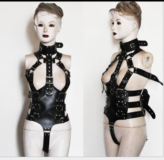Шеи талия манжету ремень связаны наручники связывание белье рабства платье садо